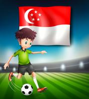 Singapore fotbollsspelare mall