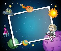 En rymdelementram