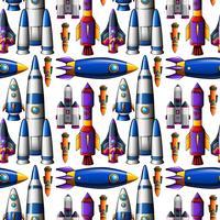 Sömlös olik design av raketfartyg