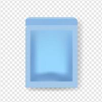 realistische Vektorpackung mit Shampooverpackungen, Gesichtsreiniger in verschiedenen Farben für die Verpackung von Kosmetikprodukten vektor
