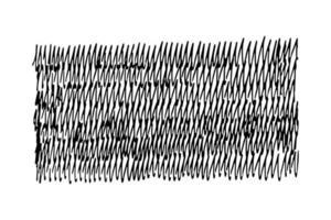 Striche Gekritzelhandschrift. Handschrift Illustration auf weißem Hintergrund im flachen Stil. Design-Elemente vektor