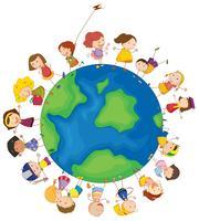 Kinder rund um den Globus