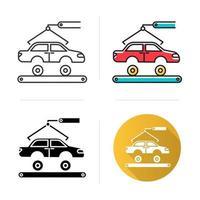 Ikone der Automobilindustrie vektor
