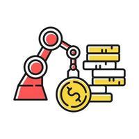 Business- und Industrie-Farbsymbol vektor
