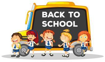 Zurück zur Schule Vorlage