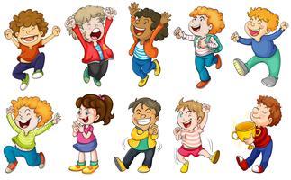 Glückliche Kinder vektor
