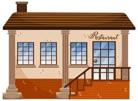 Ein klassisches Restaurantgebäude
