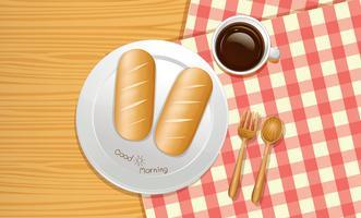 En frukost från topputsikt