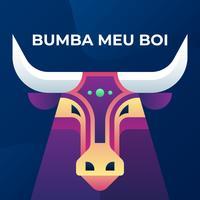 Bumba Meu Boi Bulls Traditionell brasiliansk festillustration