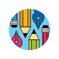 Logo des Designers vektor