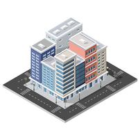 Stadsdel vektor