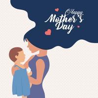 Schönen Muttertag vektor