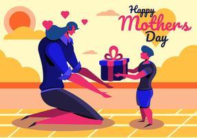 Glad mors dag
