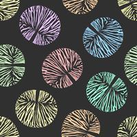 Pong-pong-Samen mit nahtlosem Hintergrund.