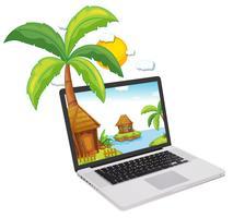 Laptop vektor