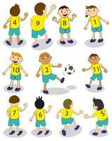 Fußballmannschaft vektor