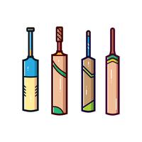 cricket bat vektor
