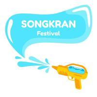 Tolles Songkran Festival vektor