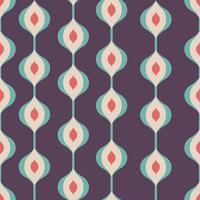 Retro abstraktes Muster vektor