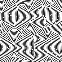 Monokrom doodle abstrakt sömlös bakgrund med stroke linje.