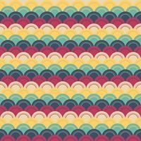 Retro Muster Vektor