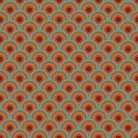 Buntes Retro Muster vektor