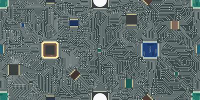 Nahtloser Hintergrund der EPS-Motherboardzusammenfassung. vektor