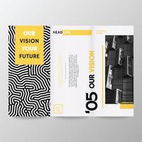 Broschüre Template Vector Design