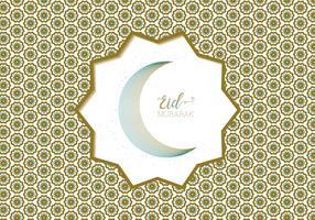 eid mubarak hälsning