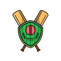 Kricket-Logo-Vektor vektor