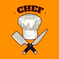Koch Chef Hut vektor