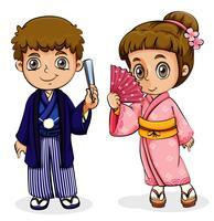 En manlig och en kvinnlig asiatisk