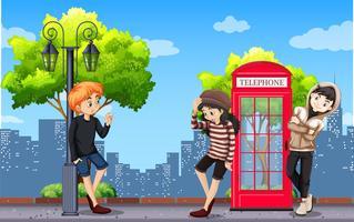 Urban tonåring i stan