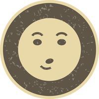 Pfeife Emoji-Vektor-Symbol vektor