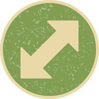 Doppelpfeil-Vektor-Symbol