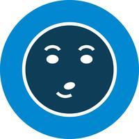 whistle emoji vektorikonen