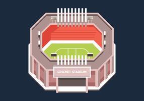 cricket stadium vektor