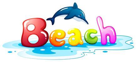 Sommar escapade på stranden
