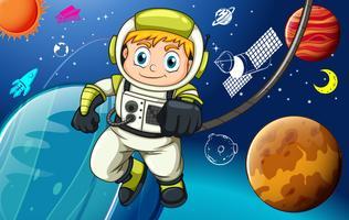 Raumfahrer vektor