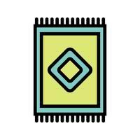 Teppich-Vektor-Symbol