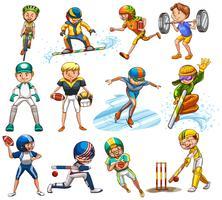 Sportset vektor