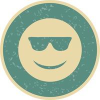 cool emoji vektorikonen vektor