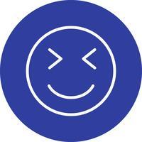 blink emoji vektorikonen