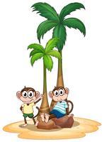 Affe und Baum