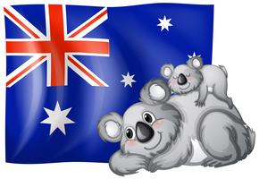 Australien Flagge vektor