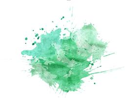 Färgglada handmålade akvarellbakgrund. Grön akvarellborstslag. Abstrakt vattenfärgstekstur och bakgrund för design. Akvarell bakgrund på texturerat papper.