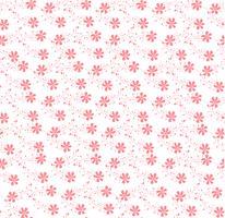 rosa blommigt prydnadsmönster sömlöst