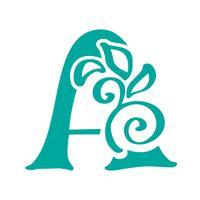 Buchstabe A Logo Symbol Design-Vorlage Elemente Schriftzug Vektor Zeichen
