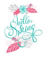 Hallo Frühlingshand
