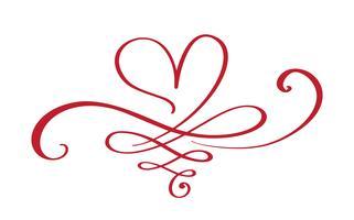 Hjärta kärlekstecken för alltid